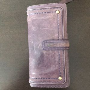 Cole Haan Washed Leather Wallet